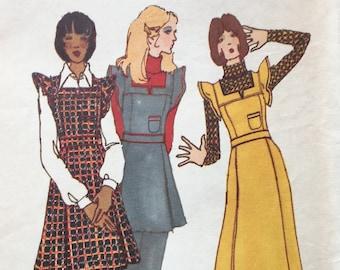 Butterick 6794 1970s Vintage KENZO Designer Sewing Pattern Pants Tunic Jumper Dress Knit Top