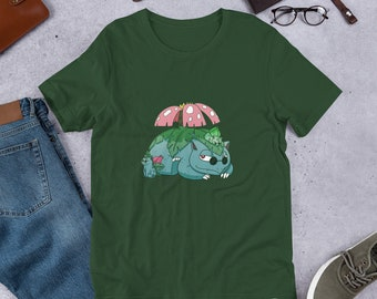 Venusaur and Sons Pokemon Nerdy Cute Kawaii Shirt