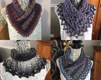 Chloe Neck warmer crochet pattern