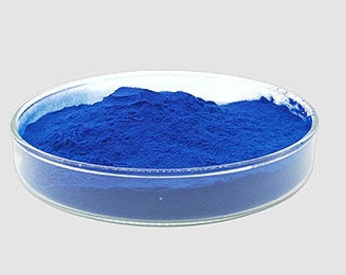 Rare Organic Blue Spirulina more protein than meat and full of many nutrients and gives you All amino acids you need no fishy taste