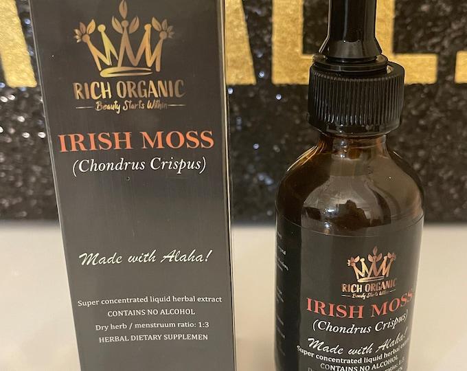 Bulk Sea Moss Chondrus Chrispus liquid extract- fast absorption add to water, juice