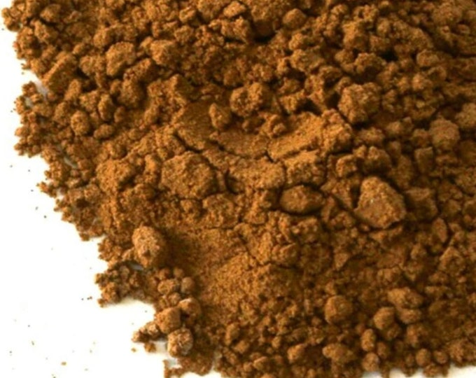 1 lb Red Reshi Powder wildcrafted Organic good against many ailments, fatigue, immune, blood pressure