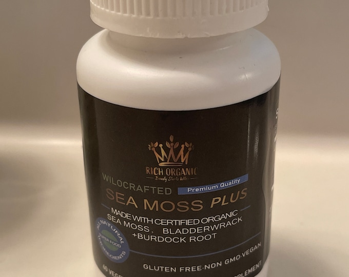 Bulk Complete sea moss capsules all 102 minerals and chemical free