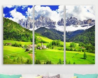 south tyrol mountain picture Printable wall art mountain lake print dolomites