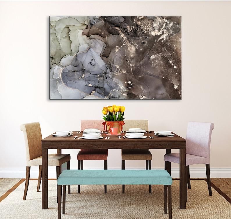 Abstract Wall Art Abstract Painting Abstract Canvas Art Abstract Art Abstract Print Abstract Marble Print Marble Green Abstract Painting