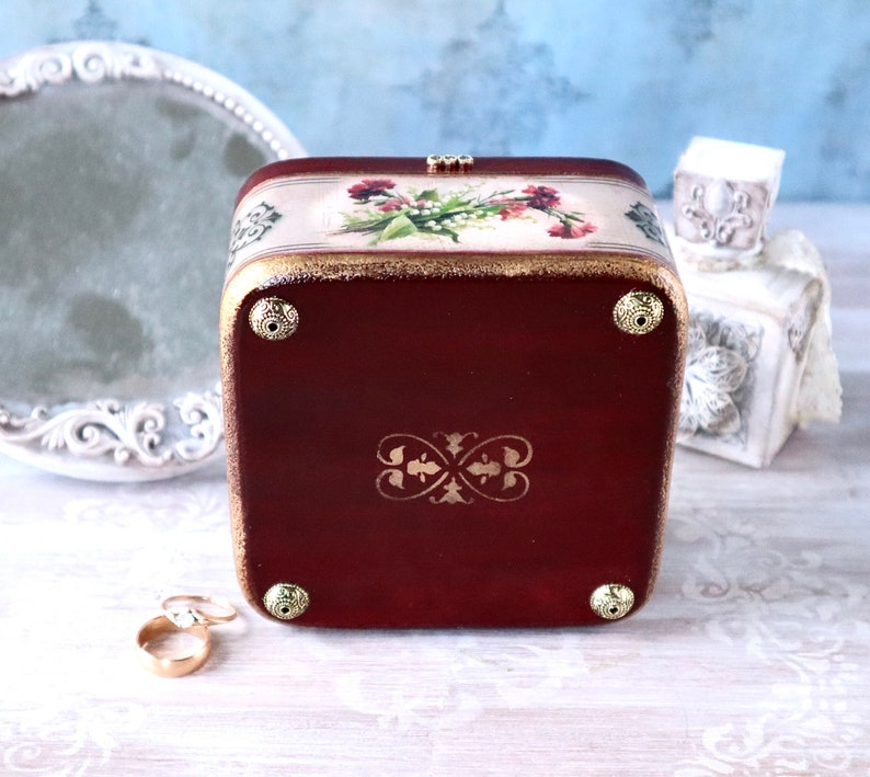 Bright jewelry box vintage mother in law gift for mothers day