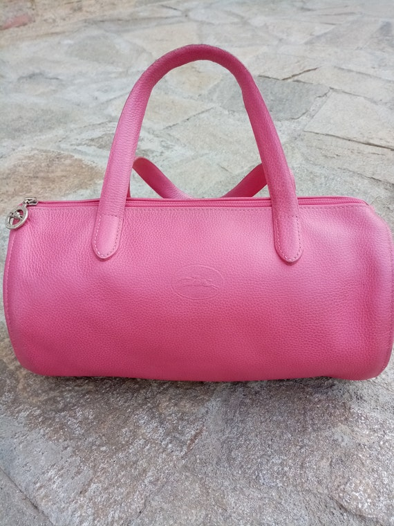 Authentic Longchamp leather bag