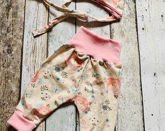 * Baby  Pumphose handmade 50//56-98//104 Jersey Sonnen Löwe schwarz