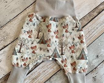 Pump Pants Baby Fox