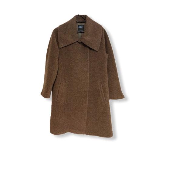 Hilary Radley wool alpaca  tan coat