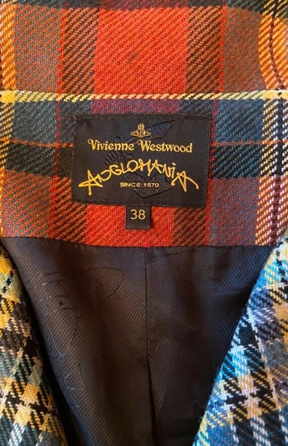 Vintage Vivienne Westwood Anglomania tartan Victor