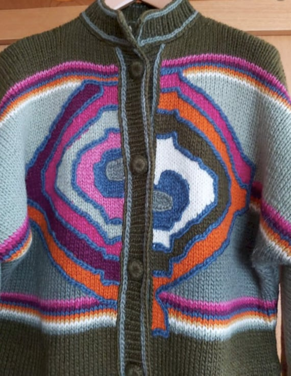 VIntage chunky sweater / vintage Austrian style ca