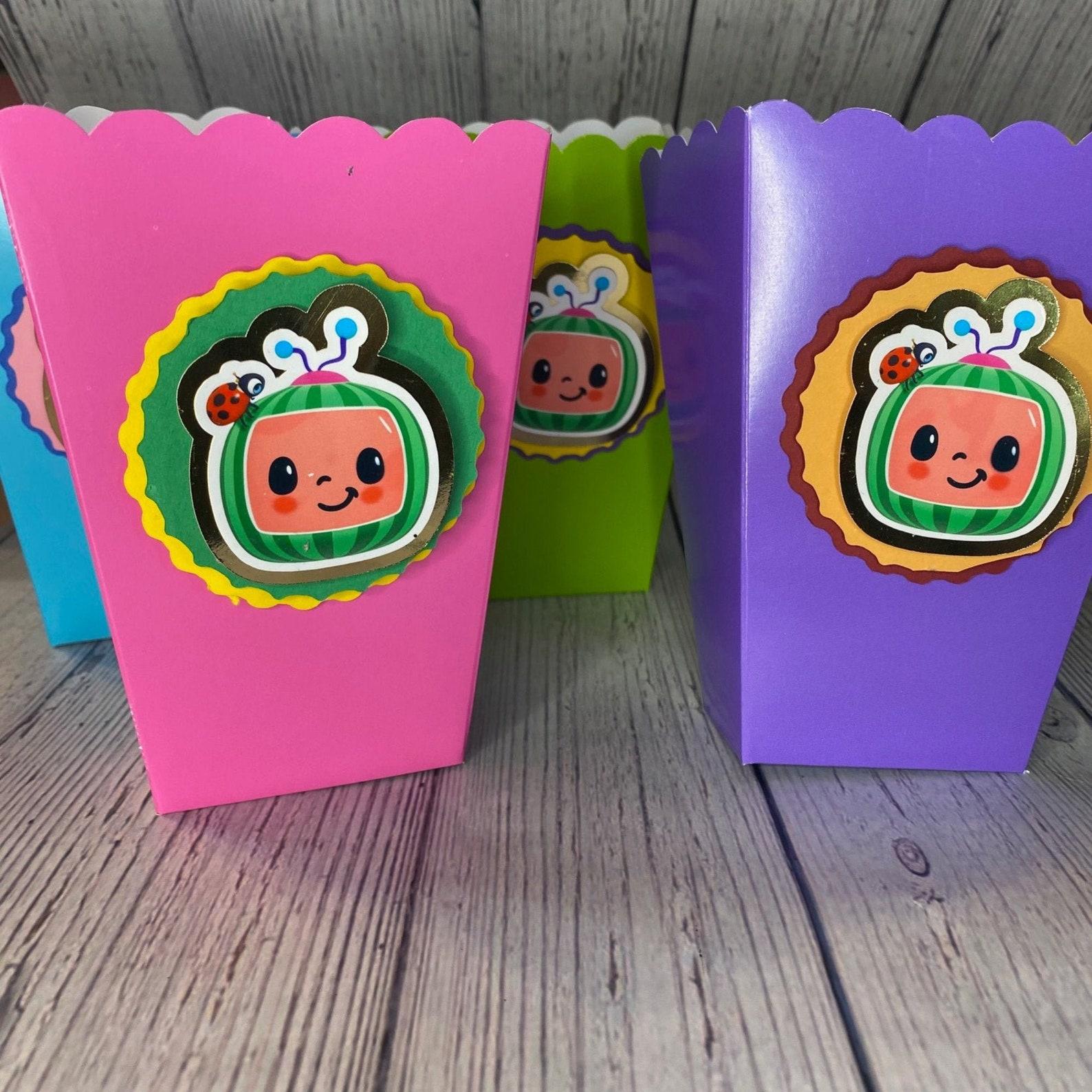 Cocomelon Popcorn boxes