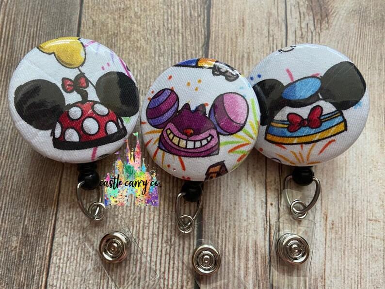 Disney Hat Ear Inspired Badge Reel