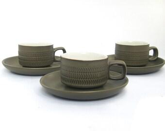 Denby Chevron Coffee Cups