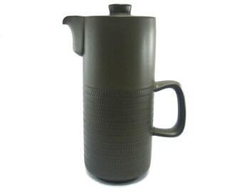 Denby Chevron Coffee Pot