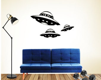 Vinyl Wall Decal Sticker Alien Invader item OSMB106B