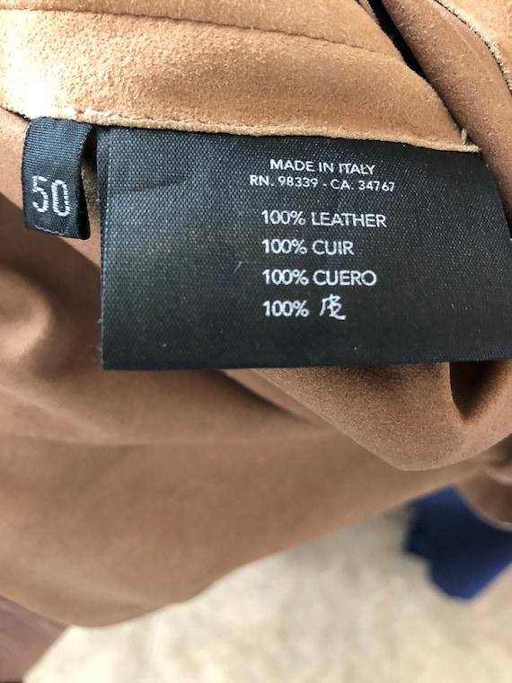 Prada suede leather jacket shirt - image 4
