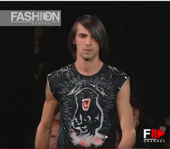 Versace black panther shirt