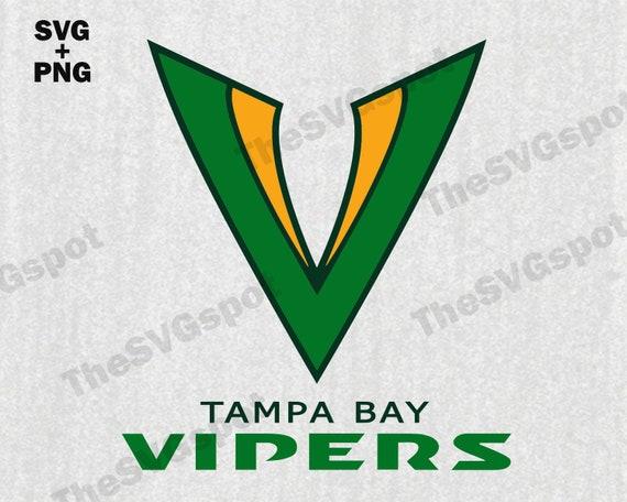 Tampa Bay Vipers Svg Xfl Vipers Football Team Logo Svg Cut Etsy