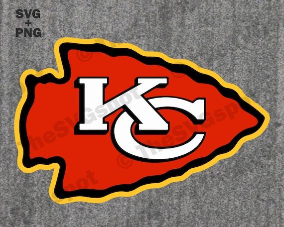 Kansas City Chiefs Arrowhead Logo High Quality Svg Cut Etsy