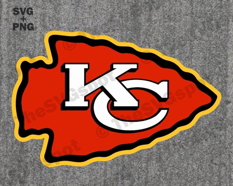 Download Kansas City Chiefs Arrowhead Logo. High-Quality SVG & Cut ...