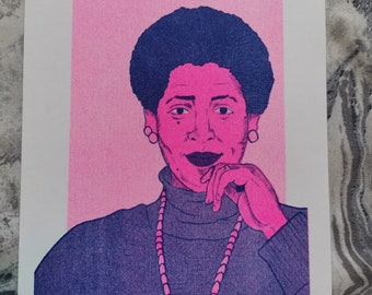 A5 Audre Lorde Riso print