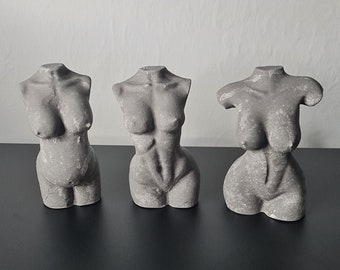 FOSSIL - Female Naked Body Shapes