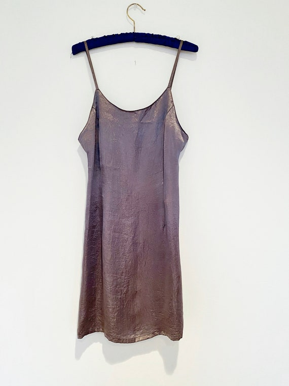 Vintage 90's slip dress | French Connection mini … - image 9