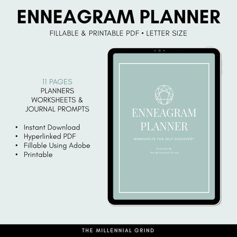 Enneagram Planner Enneagram Type Worksheets Enneagram image 0