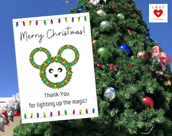 DISNEY CHRISTMAS CUTE Notes! Share some holiday cheer with the Cast Members!