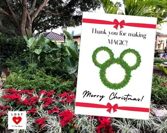 DISNEY CHRISTMAS LOVE Notes! Share some holiday cheer with the Cast Members!