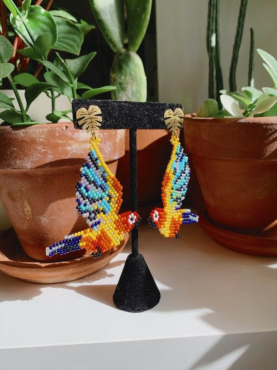 Handmade earrings, Stunning Earrings, Colorful Earrings
