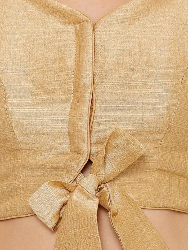 Designer saree blouse readymade blouse indian style blouse silk blouse