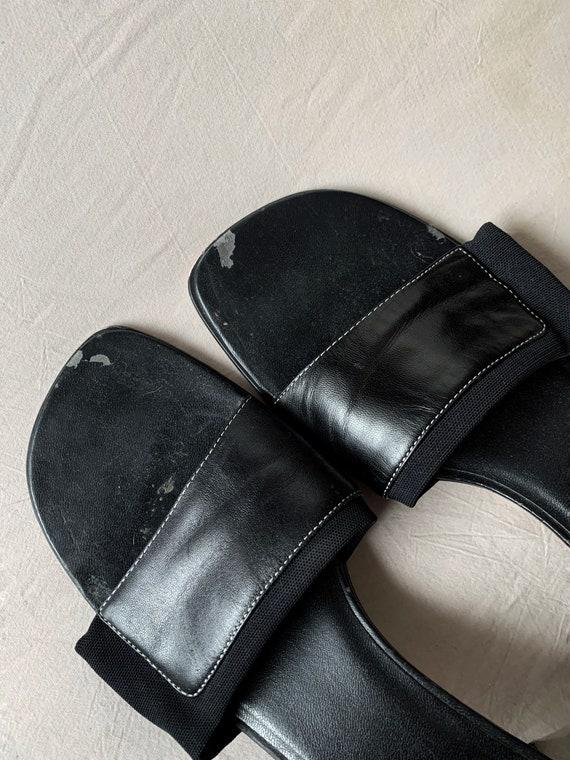 Vintage 90s Square Toe Shoes Karen Scott Vtg 1990… - image 3