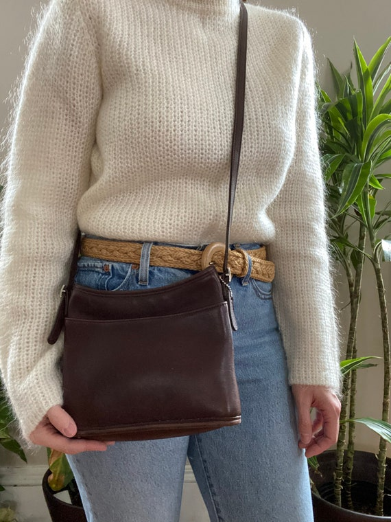 Vintage Coach Mambo Small Leather Tote