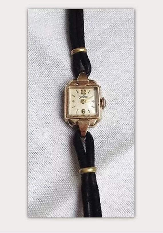 AntiqueLadies Watch ZentRa Art Deco Jewel  Watch