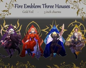 Fire Emblem Three Houses Foil Charms