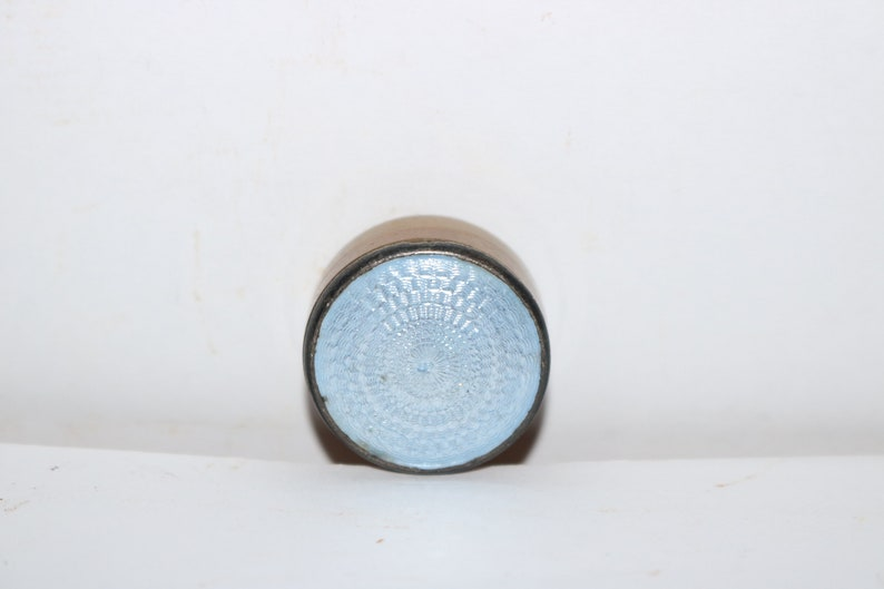 Vintage Wee Blue Pill Box