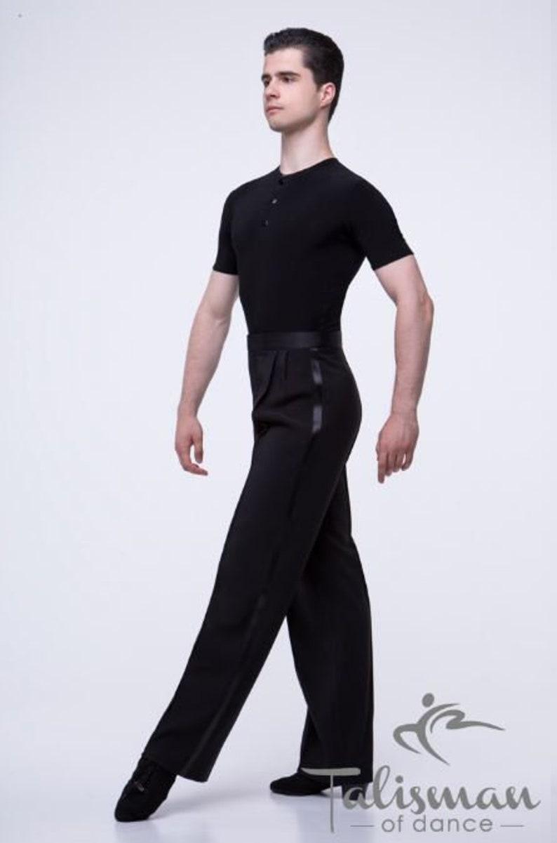 Men/'s shirt for dancing Slim-fit shirt for tango.