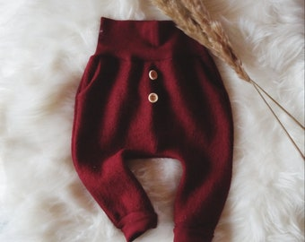 Woolwalk trousers in different colours for babies & children | Outdoor Buddel Mud Pants Girls and Boys | Mitwachshose Wollwalk
