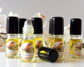 Essential Oil Natural Perfume Roller Blend 5 ml Sunset Wind Whisper Indigo Sky