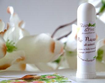 Nausea Inhaler Essential Oil Blend Indigestion Help Natural Remedy