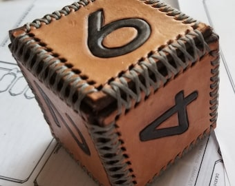 Six-Sided Leather Die