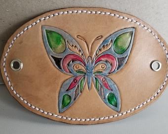 Barrette: Vibrant Butterfly