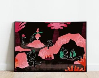 Studio - AR print (40x60cm)