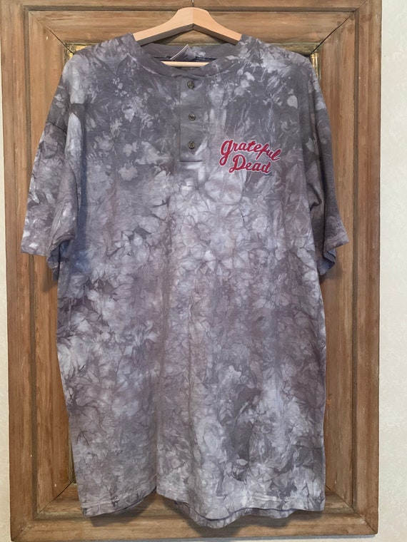 Vintage Greatful Dead cool early 90s grey ty dye w