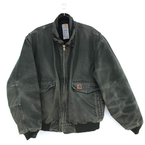 Vintage 90s Carhartt Distressed Jacket