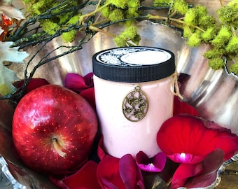 Poisoned Darling Whipped Body Lotion ~ Body Cream, Apple,Vanilla,Amber,Natural,Organic,Wicca,Moisturizer,Fall Skincare,Hydrate