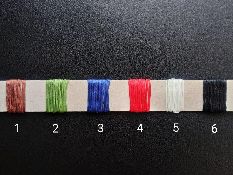 Handmade Wallet Italian Leather Ponte Vegetable Tanned Buttero EDC Bifold Wallet 5 pockets Vacchetta